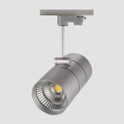 cylinder led track light fitting