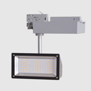 FLOOD led track light fitting