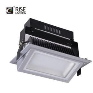 Recangular LED shoplighter Silver