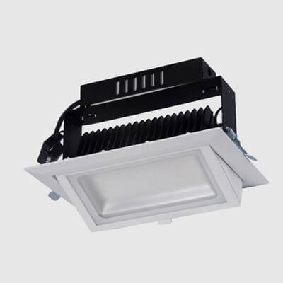 Rectangular led shop light 20w 28w 38w 48w