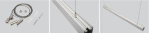 Suspension kit for led linear light