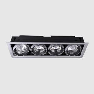 4x15W LED Grille Downlight Quad