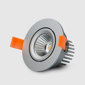 90mm 8W 12W LED Tiltable Downlight