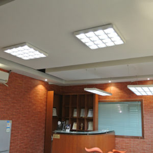 Galaxy LED panels surface mounted suspended