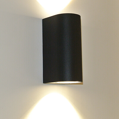 Led wall lights for indoor and outdoor use rise lighting exterior led wall lights 6w12w aloadofball Image collections